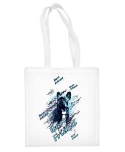 """Medvilninis pirkinių krepšys """"Best Friend"""", Manodovanos.lt, susikurkite savo dovaną"""