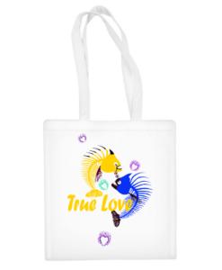 """Medvilninis pirkinių krepšys """"True Love Bag"""", Manodovanos.lt, susikurkite savo dovaną"""