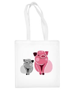 """Medvilninis pirkinių krepšys """"Pigss"""", Manodovanos.lt, susikurkite savo dovaną"""